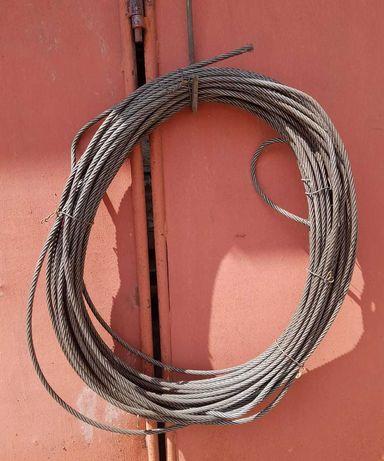 Lina stalowa 12 mm, 70-75 metrów