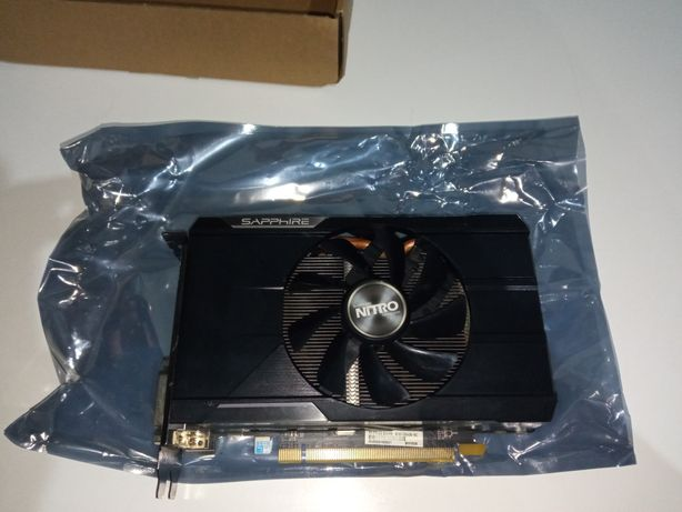 Видеокарта R9-370x 2gb игровая.
