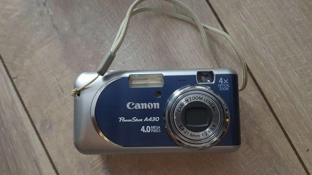 Aparat fotograficzny Canon PowerShot A430