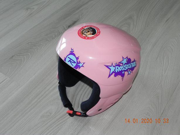 kask narciarski dziecięcy różowy rossignol