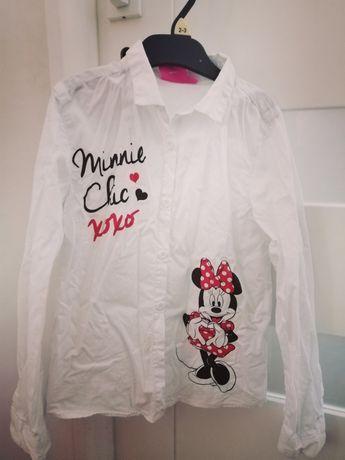 Koszule białe dla dziewczynki