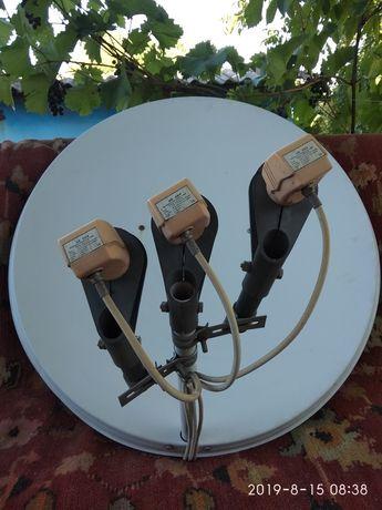 Продам спутниковую антенну диам90