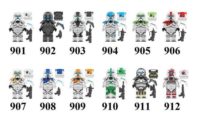 Фигурки лего Звёздные Войны Lego Star Wars клоны коммандос отряд дельт