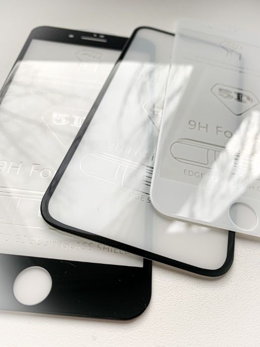 Защитное стекло на iPhone айфон 6,7,8,SE,X,Xs MAx,Xr,11,12 Акция Горишные Плавни - изображение 1