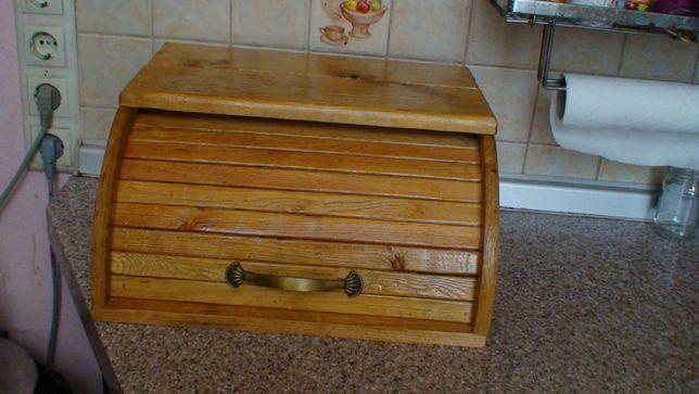 Хлебница из дерева (сосна) ручной работы