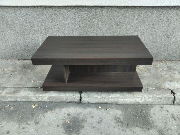 Stół drewniany stolik kawowy niski nowoczesny ława
