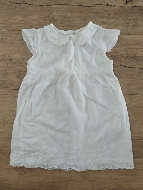 Летнее белое платье Red tag baby (18-24 мес) 1,5-2 года Zara carters