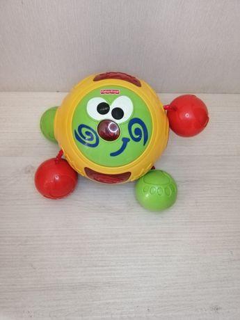 Мяч колобок Fisher Price