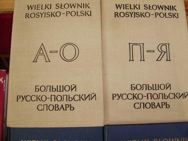 Wielki słownik rosyjsko-polski polsko-rosyjski