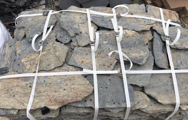 ŁUPEK SZAROGŁAZOWY Szarogłaz Kamień Płytki na ŚcieżkęKaskadę Elewację