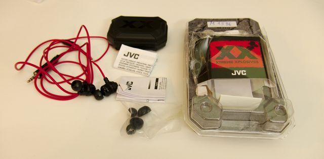 Dokanałowe słuchawki JVC HA-FX1X - Świetna jakość - NOWE PONAD 100ZŁ