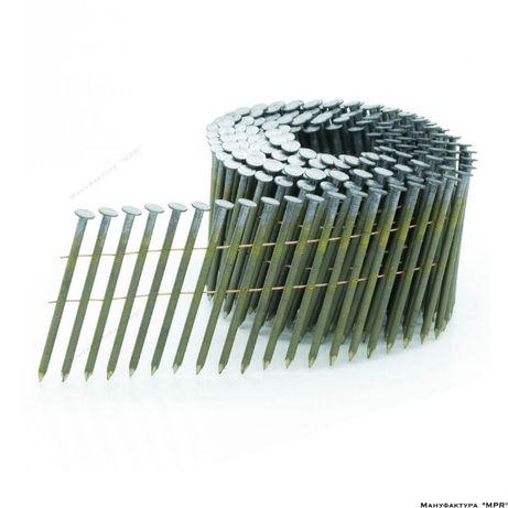 Гвозди в бобине CNW 2.1/55 рифленые PREBENA (1000 ед) nails-BkRi