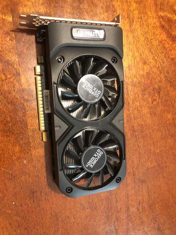 Видеокарта Geforce GTX 1050 ti 4GB Dual OC Palit