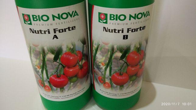 Nutrientes para hidroponia, solo, coco, da Bionova