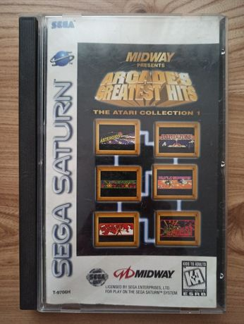 Gra Arcade's Greatest Hits SEGA SATURN NTSC