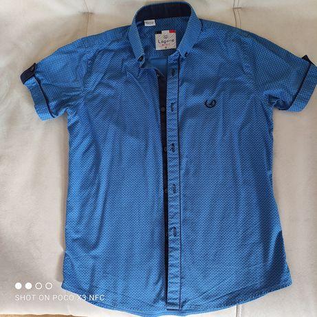 Модная рубашка на мальчика, р. 134-140