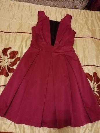 sukienka na wesele/fuksjowy róż