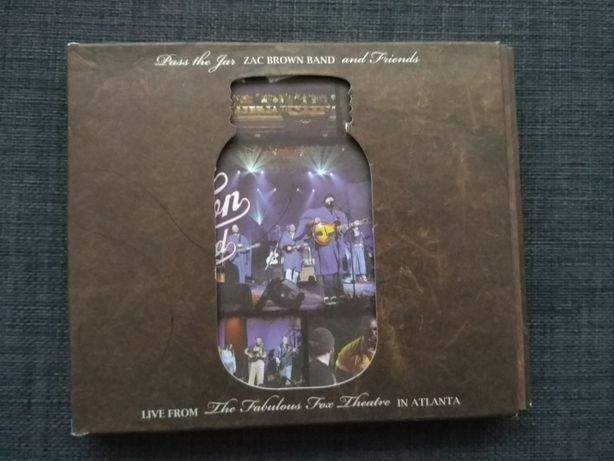 Zac Brown Band, live from Atlanta 2010, 2 cds+1 dvd concerto