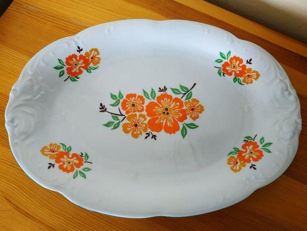 Sprzedam tacę półmisek porcelana Wawel kwiaty ozdobny