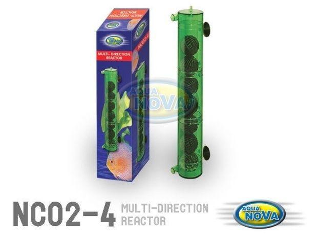 Aqua Nova Nco2-4 - multireaktor 30cm do rozpuszczania co2 z biobalami