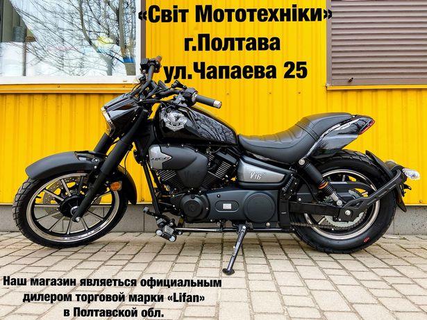 Новый мотоцикл спорт-круизер Lifan V16S 2021-года не honda yamaha