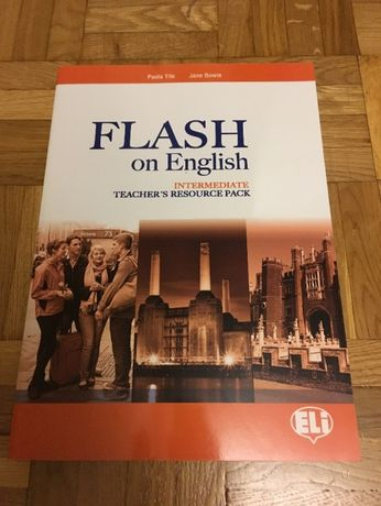 Flash on English Intermediate Teachers Resource Pack + 3 PŁYTY CD
