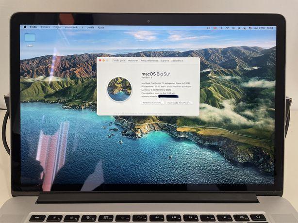 Macbook Pro Retina 15 Polegadas