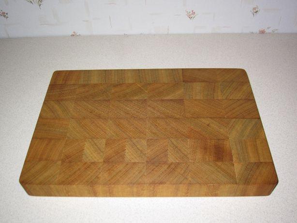 Deska do krojenia drewniana duża 40 x 28 x 4cm