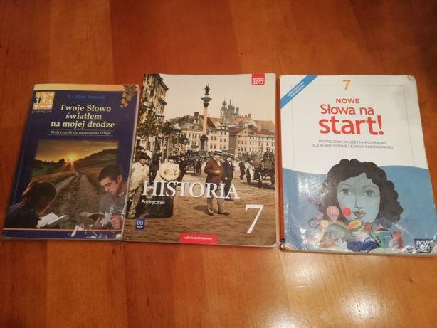 Książki podręczniki kl 7