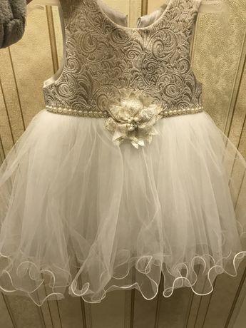 Платье нарядное для принцессы))
