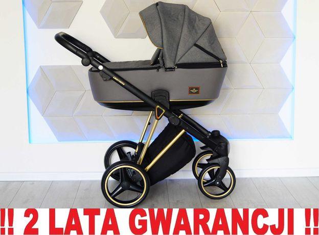 Wózek ADAMEX CRISTIANO 2w1 - nowoczesny, markowy !! WYSYŁKA w 24h!!