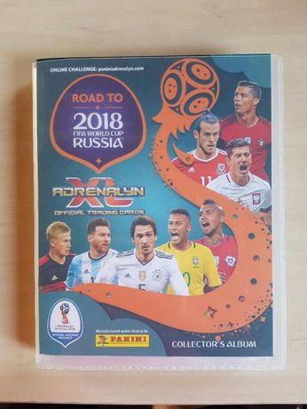 Panini Road to Russia 2018 kompletny album