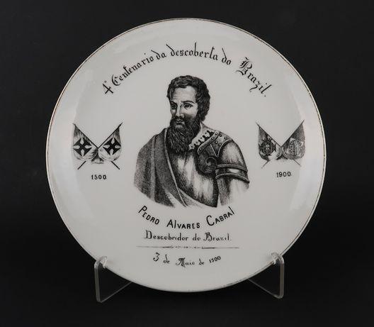 Prato Vista Alegre Séc. XIX - 4º Centenário Descoberta do Brazil