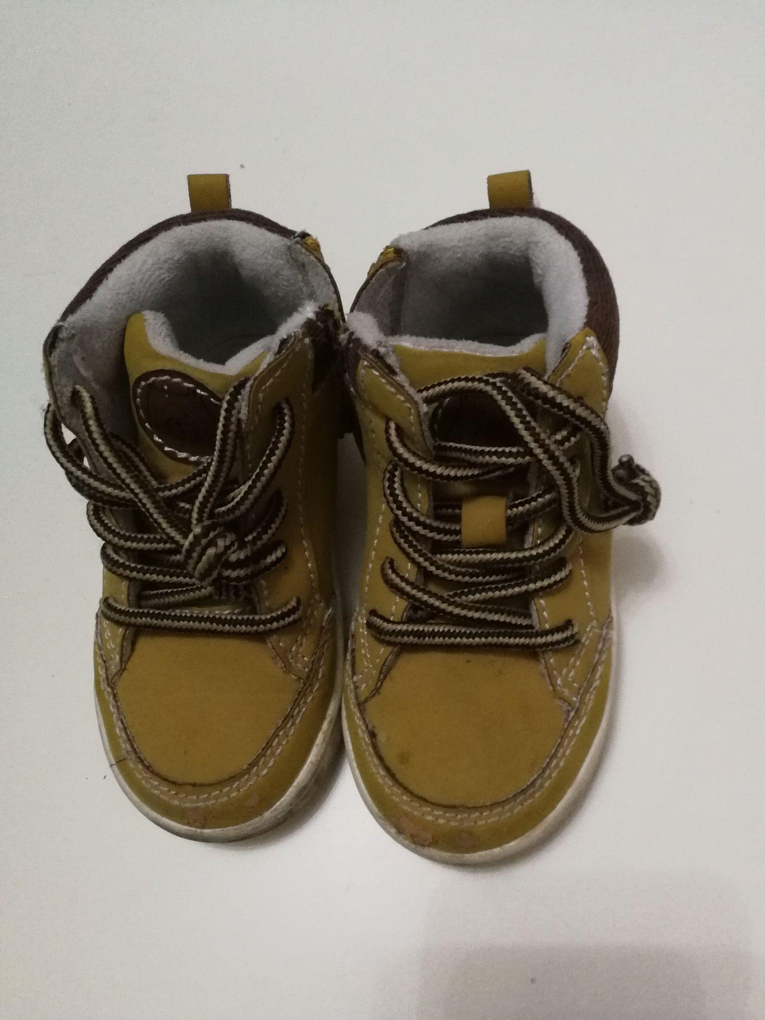 Chłopięce buciki 22
