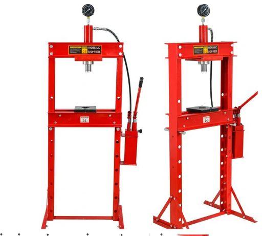 Prasa hydrauliczna 20 T szybka 2 stopniowa pompa