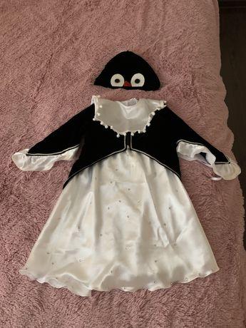 Костюм пингвина на 2-3 года