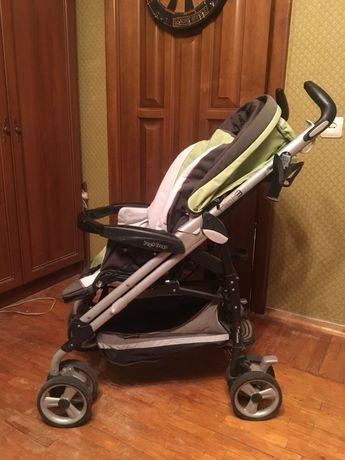 Прогулочная коляска трость PEG PEREGO Pliko P3 цвет салатовый