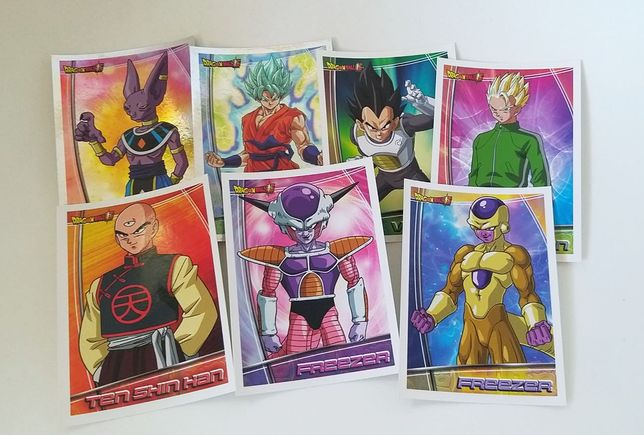 Cromos Caderneta - Dragon Ball Super - Panini