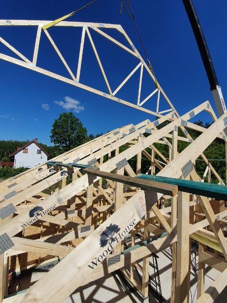 Wiązary dachowe CE -gotowa więźba dachowa w technologii MITEK -c24