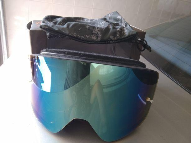 Óculos para capacete