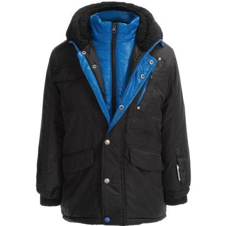Зимняя теплая куртка парка Big Chill Expedition на мальчика 9-11 ле