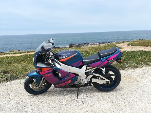 YZF 750R 13600km