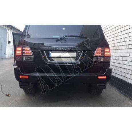 Тойота Ленд Крузер 100 Лексус 470: Габариты в задний бампер ( TRD )