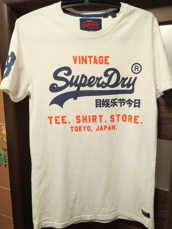 SUPERDRY koszulka męska t shirt S-M oryginał okazja