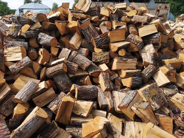 Drewno kominkowe opałowe układane