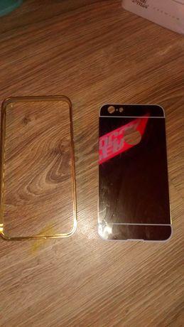 Case Etui IPhone 6plus stussy black gold