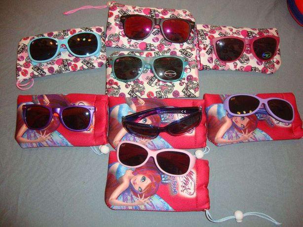 Óculos de Sol Barbie e Winx (Novos)