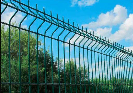 Забор из Сварной Сетки 3d с ппл секционный забор. Секции .забор секци