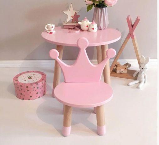 Подарунок дитині на Новий Рік. Стіл та стілець. Детский стол и стул