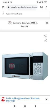 Kuchenka mikrofalowa Zelmer ZMW2131X